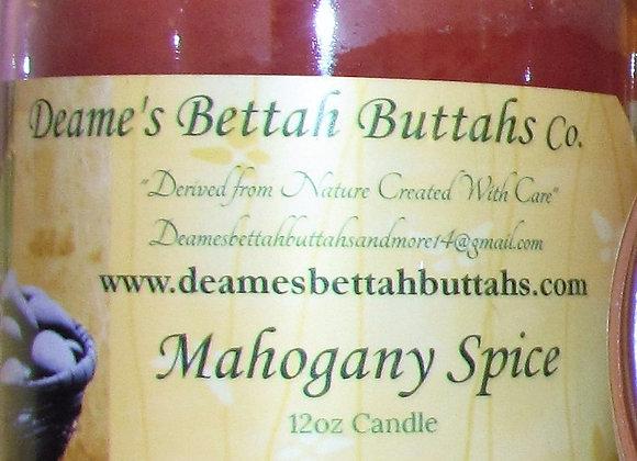 Mahogany Spice Soy Candle