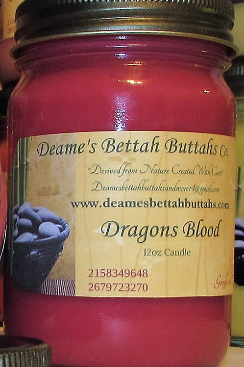 Dragons Blood Soy Candle