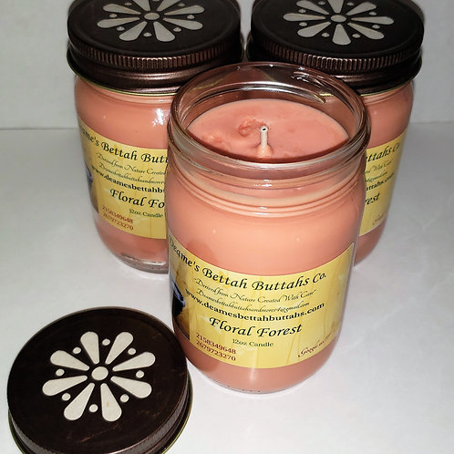 Floral Forest Soy Candle