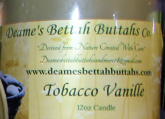 Tobacco Vanille Soy Candle