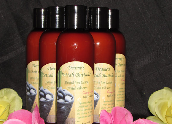Peppermint Tea Tree Liquid Castle Soap