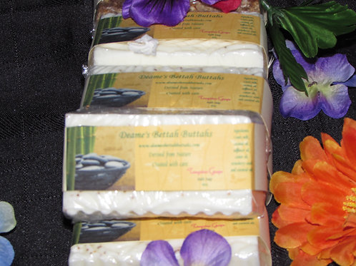 Tangerine Grape Goats Milk Soap