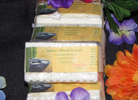 Tangerine Grape Goats Milk Soap