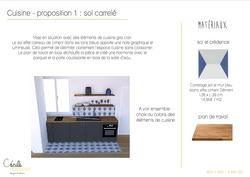 3D cuisine & propositions matériaux