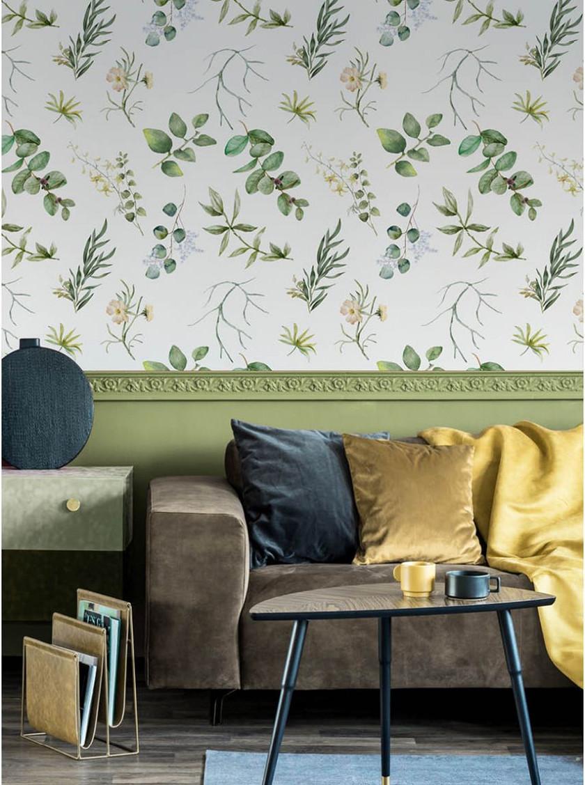 Papier peint floral Papermint