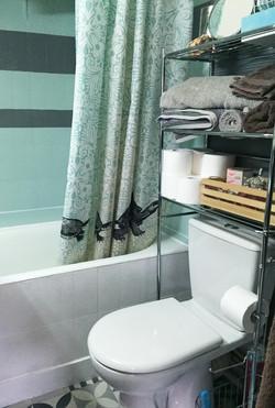 Salle de bain / après