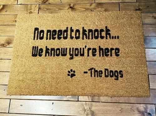 Doggie Doormat