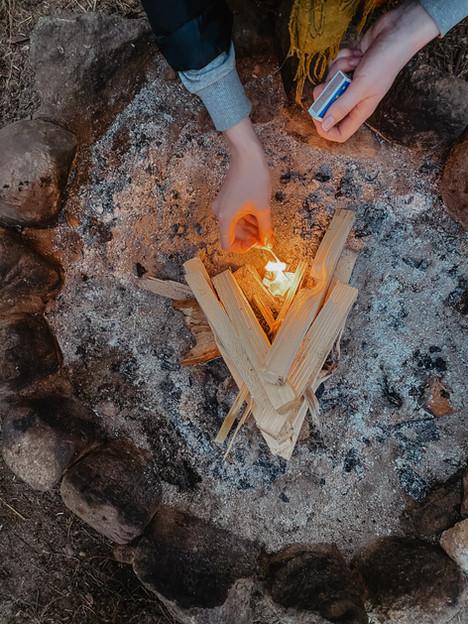 Asalnų tipiai - ugnis