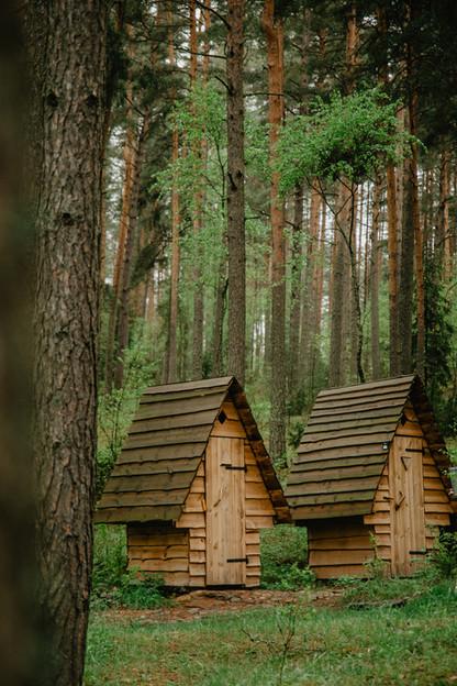 Asalnų stovyklavietė -wc