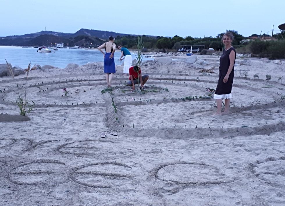 Creative Quest in Griechenland am Strand