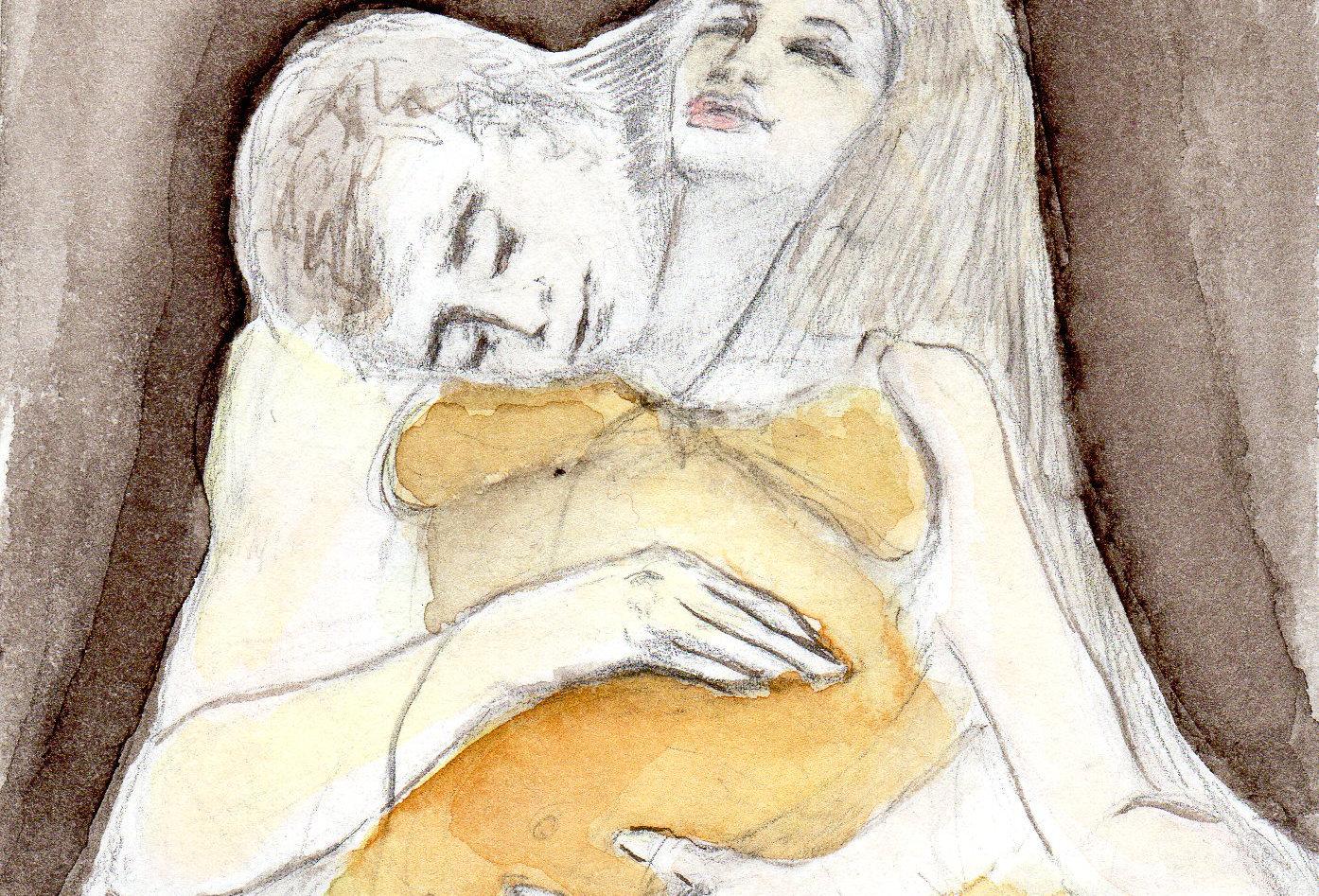 umarmtgehalten und geliebt