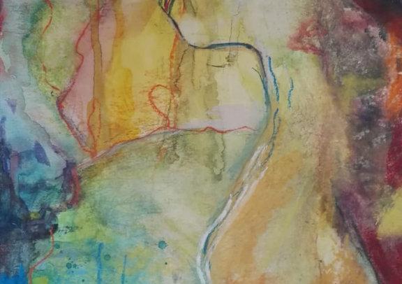 Farbenfrau
