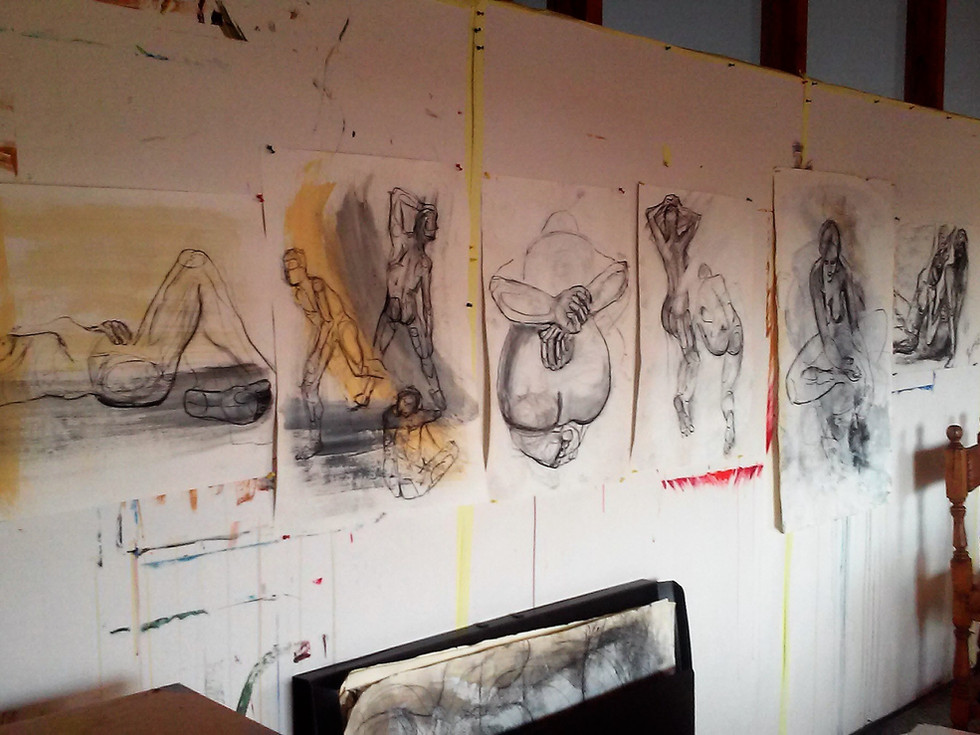 Atelier24einhalb: lebendiges Zeichnen