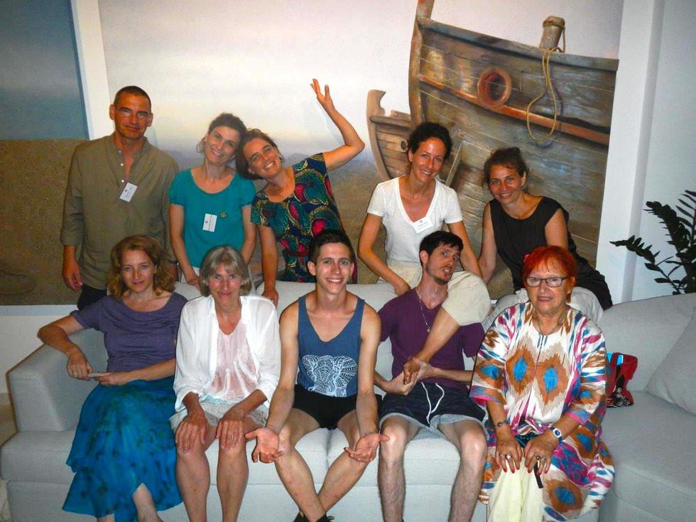 Creative-Quest in Griechenland sagt HALLO