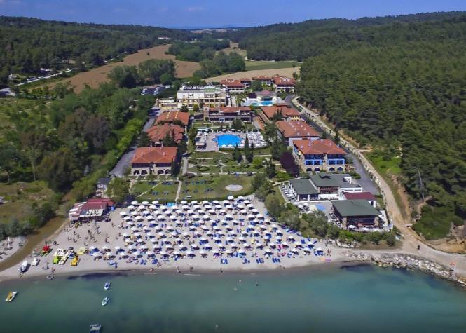Σήμαντρο Beach Hotel Κατασκευή Παραλιακής Ζώνης Σάνη Χαλκιδικής