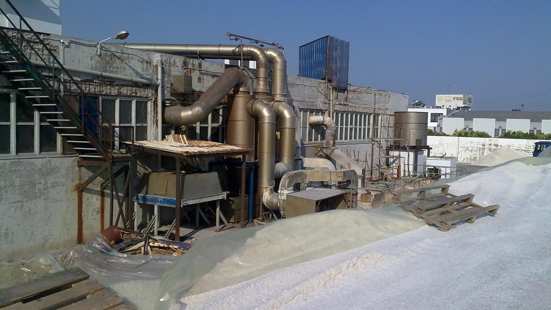 Εργοστάσιο ΑλατιούΚάλλας Εργασίες Αποκατάστασης και Ενίσχυσης Κατασκεύης Σίνδος