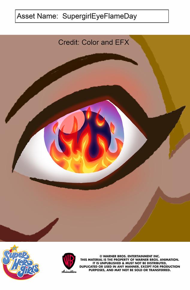 DC Superhero Girls: Supergirl Fire Eye