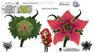 DC Superhero Girls: Poison Ivy Flower prop