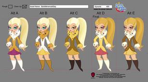 DC Superhero Girls: Barbara Minerva