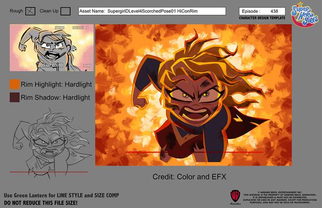 DC Superhero Girls: Supergirl Fire Rim