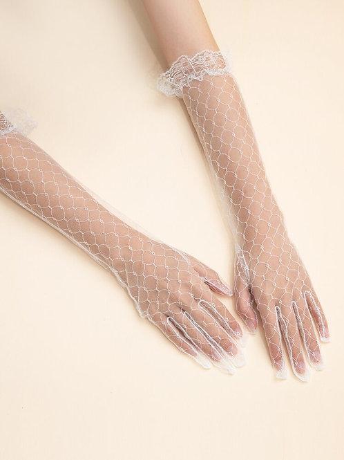 Long Mesh Gloves