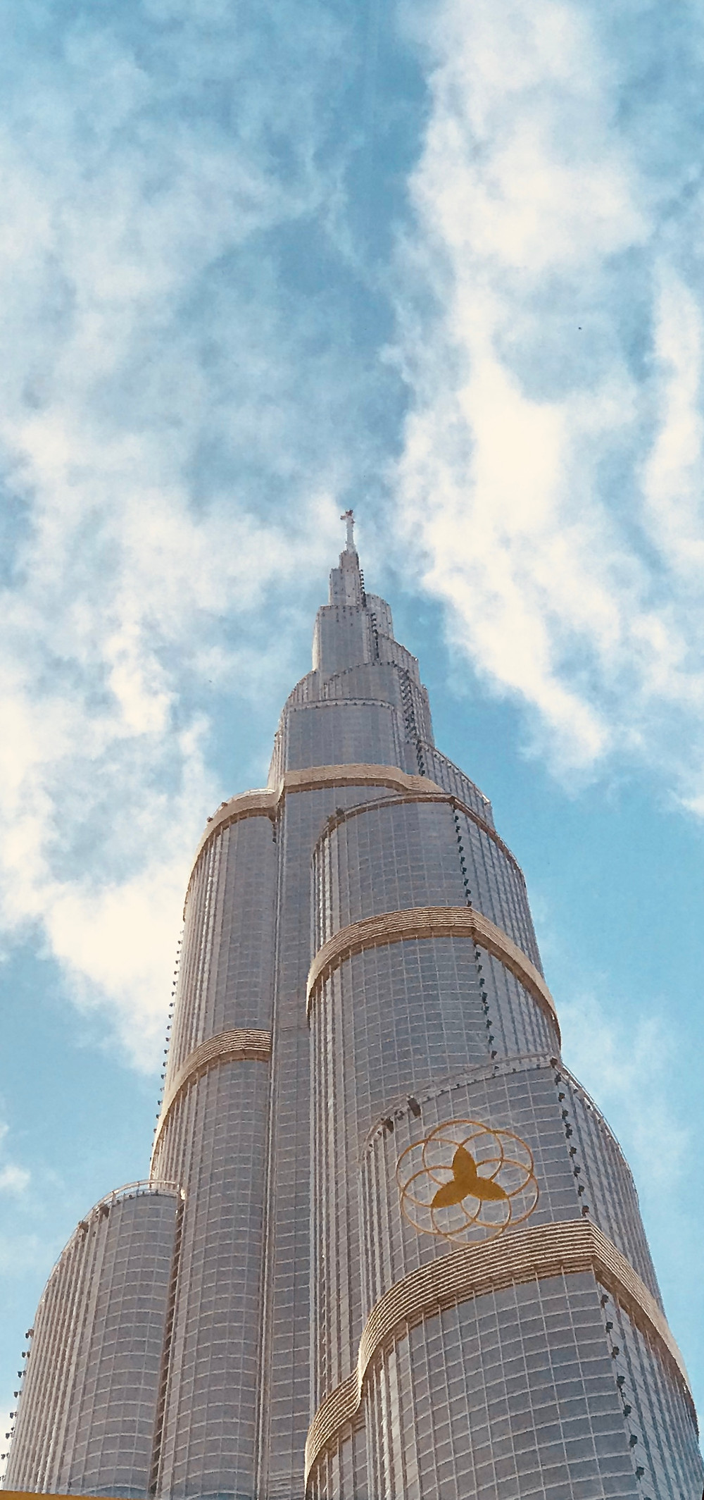 View of the Burj from the bottom