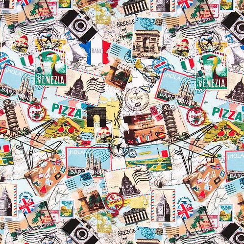 Travel Collage