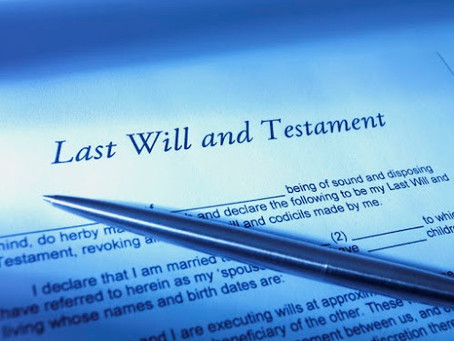BASIC FORMALITIES SET OUT IN THE WILLS ACT 7 of 1953 FOR A VALID WILL