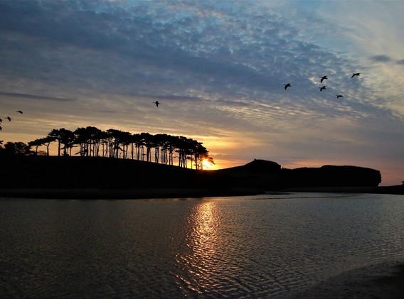 23 Otterhead sunrise