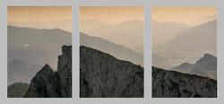 Alpine ridge panel