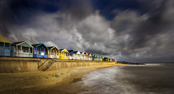 Summer squall at Southwold