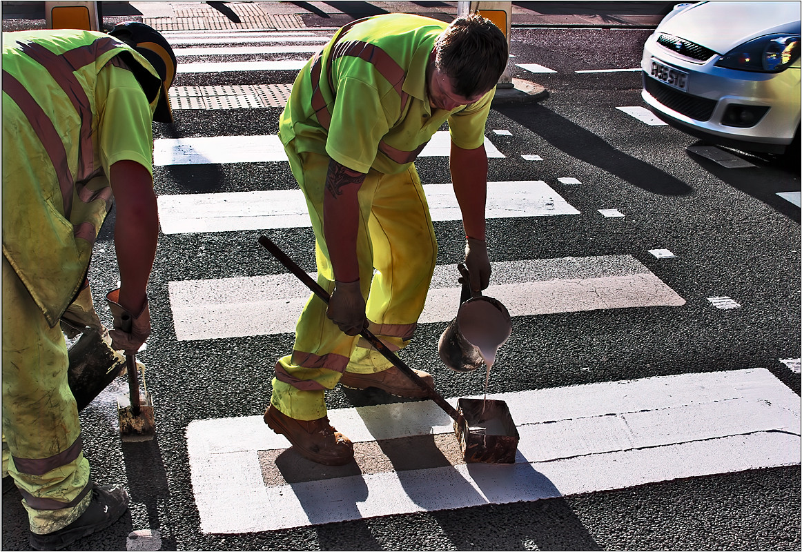 Painting the Crossing
