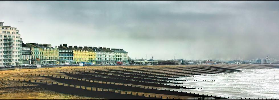 Rainy Day at the Coast: Hugh T