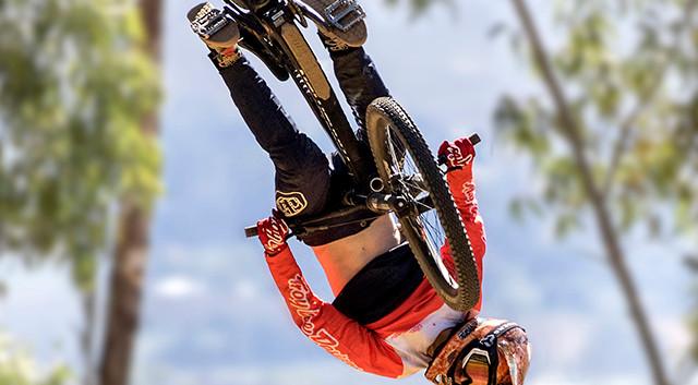 Aussie cyclist: Ron Parnell
