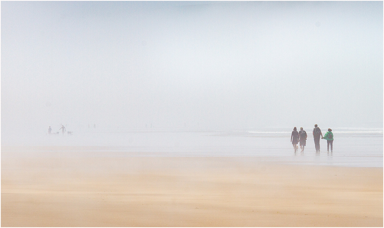 01 Foggy beach