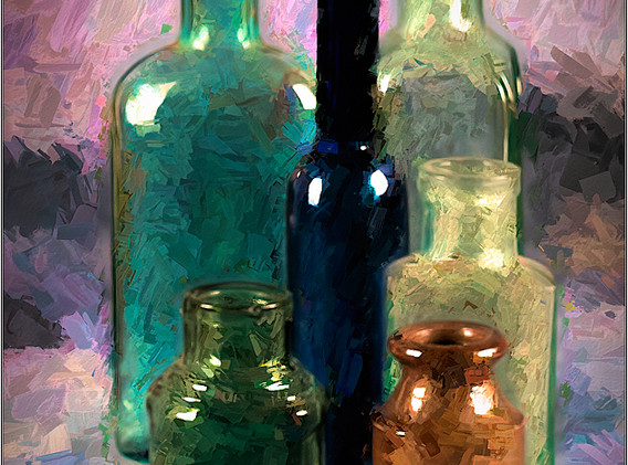 18 Empty Bottles.