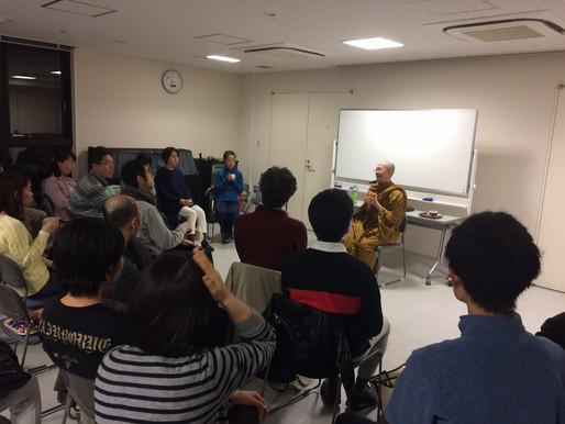 プラユキ師 瞑想会が開催されました