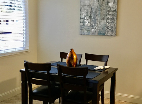 Furnished Dinning Area