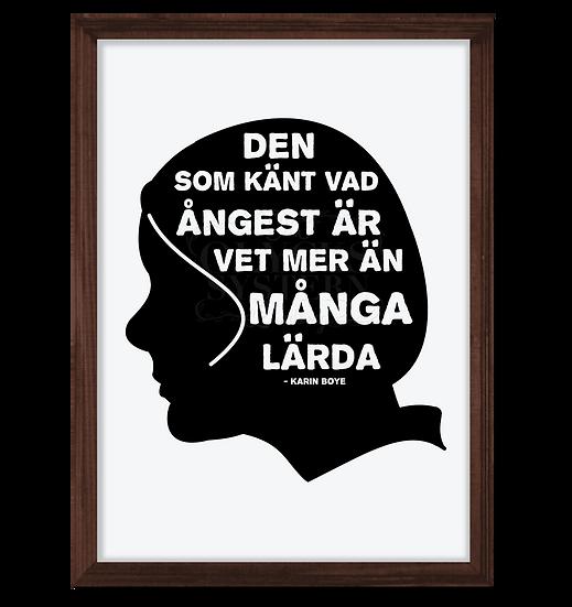 KARIN BOYE - ÅNGEST