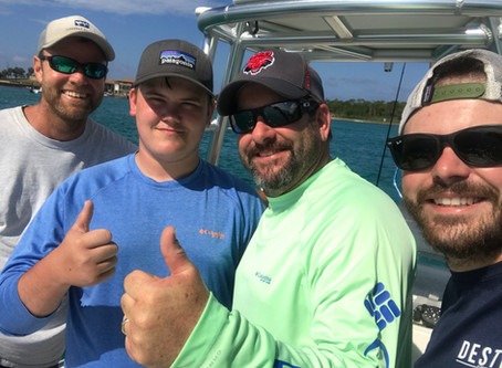Another great 4 hr fishing charter!!