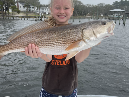 Spring break fishing can't be beat! Fishing in Destin Florida is warming up just like the weather!