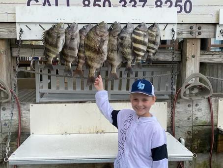 Bay fishing is a great family fun!