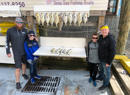 Inshore bay fishing has been great !!