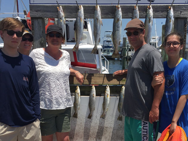 Destin Bay Fishing trip