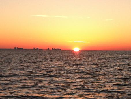 Destin Fl Sunrise #emeraldcoastbaycharters
