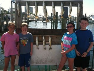 Inshore fishing in Choctawhatchee