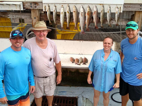 Another great inshore fishing charter!!