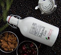 Bakewell gin ceramic Juniper background.