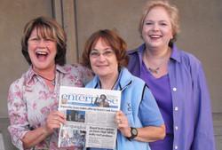 Members & the Davis Enterprise paper