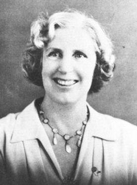 Violet Richardson, President of the first Soroptimist chapter